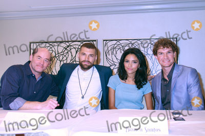 Bianca Santos Photo - David Koechner Joel Smallbone Bianca Santos Ben Smallbone 10022016 Priceless Photocall held at the Four Seasons Los Angeles at Beverly Hills in Los Angeles CA Photo by Julian Blythe  HollywoodNewsWireco