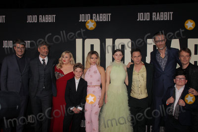 Archie Yates Photo - Carthew Neal Taika Waititi Rebel Wilson Roman Griffin Davis Scarlett Johansson Thomasin McKenzie Sam Rockwell Stephen Merchant Archie Yates Alfie Allen 10152019 The Los Angeles Premiere of Jojo Rabbit held at the Hollywood American Legion Post 43 in Los Angeles CA Photo by Izumi Hasegawa  HollywoodNewsWireco