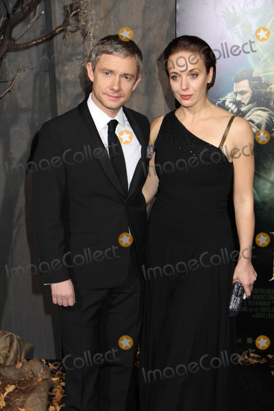 Amanda Abbington Photo - Martin Freeman Amanda Abbington 12022013 Los Angeles Premiere of The Hobbit The Desolation Of Smaug held at Dolby Theater in Hollywood CA Photo by Izumi Hasegawa  HollywoodNewsWirenet