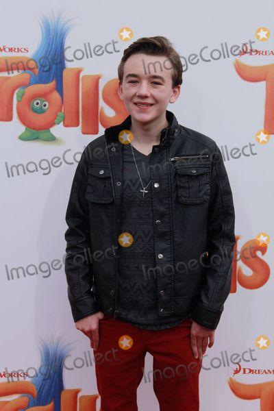 Benjamin Stockham Photo - Benjamin Stockham 10232016 Premiere of Trolls held at the Regency Village Theater in Los Angeles CA Photo by Julian Blythe  HollywoodNewsWireco