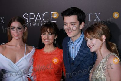 Asa Butterfield Photo - Janet Montgomery Carla Gugino Asa Butterfield Britt Robertson 01172017 The Los Angeles Premiere of The Space Between Us held at the ArcLight Hollywood in Los Angeles CA Photo by Izumi Hasegawa  HollywoodNewsWireco