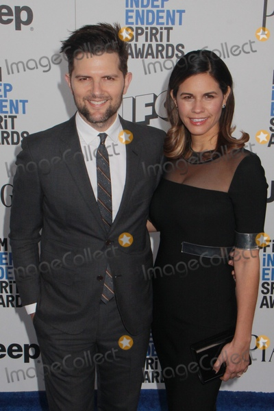 Adam Scott Photo - Adam Scott Naomi Scott2252017 2017 Film Independent Spirit Awards held at the Santa Monica Pier in Santa Monica CA Photo by Julian Blythe  HollywoodNewsWireco
