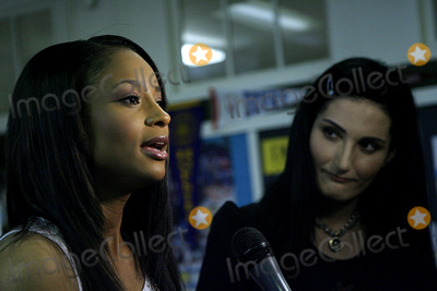 Atoosa Rubenstein Photo - Singer Ciara (L) is interviewed while Seventeen Magazines editor-in-chief Atoosa Rubenstein listens in during an appearance marking today as The National Day To Prevent Teen Pregnancy at Manhattan Center High School on May 3 2006 in New York City