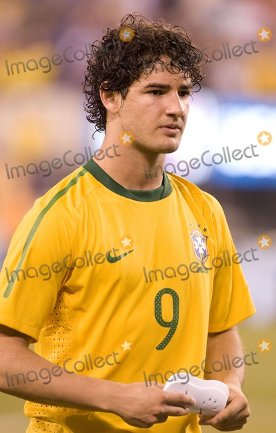 Alexandre Pato Photo - Brazil forward Alexandre Pato pictured after the US vs Brazil game at the New Meadowlands Stadium on August 10 2010 in East Rutherford New Jersey