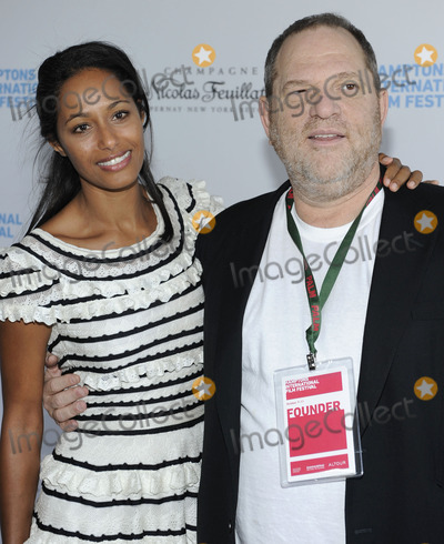 Rula Jebreal Photo - Writer Rula Jebreal and Weinstein Company founder Harvey Weinstein (R) attend the Chairmans Reception during the 2010 Hamptons International Film Festival at HIFF chairman Stuart Match Sunas home in East Hampton NY on October 9th 2010 (Pictured Rula Jebreal Harvey Weinstein)