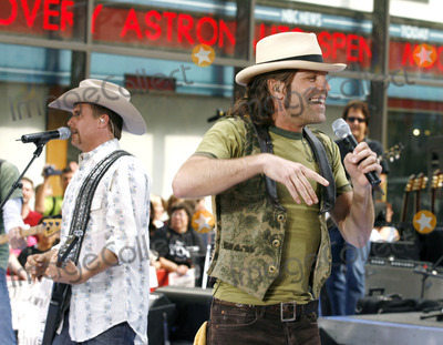 Big Kenny Alphin Photo - John Rich and Big Kenny Alphin of the country duo Big And Rich onstage performing during The Today Show on July 8 2006 inNew York City
