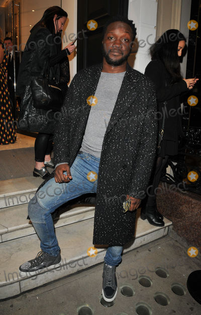 Arnold Oceng Photo - LondonUK  Arnold Oceng   at the Giuseppe Zanotti flagship store opening party Giuseppe Zanotti Conduit Street London 26th October 2016 Ref LMK315-62677-271016Can NguyenLandmark Media WWWLMKMEDIACOM