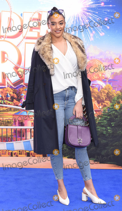 Amal Fashanu Photo - London UK Amal Fashanu at Wonder Park Gala Screening held at Vue Leicester Square London on Sunday 24 March 2019 Ref LMK392-2301-240319Vivienne VincentLandmark Media WWWLMKMEDIACOM