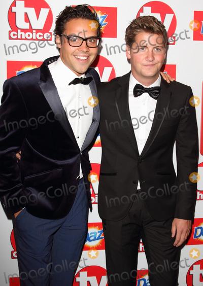 Andy Jordan Photo - London UK Andy Jordan and Stevie Johnson at The TV Choice Awards 2013 at at the Dorchester Hotel  Park Lane Mayfair London UK 9th September 2013Ref LMK73-45212-100913Keith MayhewLandmark Media WWWLMKMEDIACOM