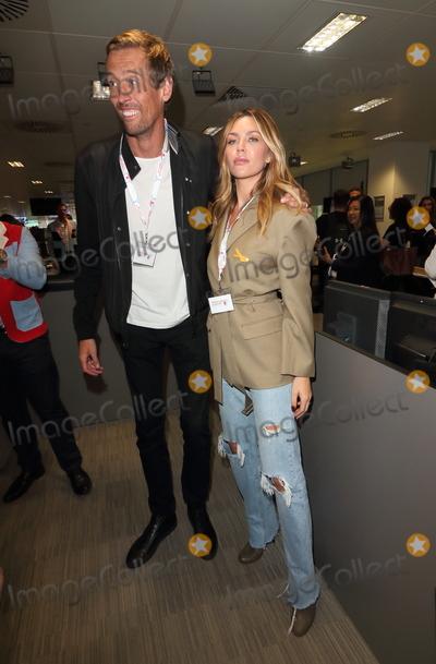 Abbey Clancy Photo - LondonUK  Abbey Clancy and Peter Crouch   at BGC Charity Day 2019 at Canary Wharf London 11th September 2019RefLMK73-S2830-120919Keith MayhewLandmark MediaWWWLMKMEDIACOM