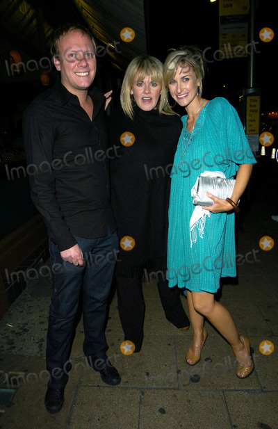 Anthony Cotton Photo - London UK Anthony Cotton with  Sally Lindsay and guest at Kate Fords  engagement party Century Club 5th May 2007 Can NguyenLandmark Media