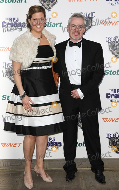 Nik Kershaw Photo - LondonUK Nik Kershaw and wife Sarah  at the  2011 Rock Ball Hurlingham Club London 31st March 2011 Evil ImagesLandmark Media
