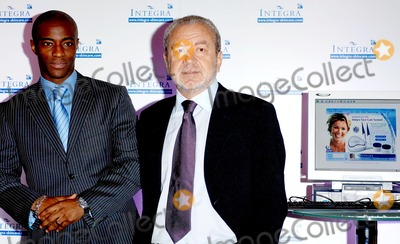 Alan Sugar Photo - London Sir Alan Sugar and Tim Campbell (stars of BBC 2s The Apprentice and winner of the first series)attend the launch of Amstrads latest innovation in the health and beauty industry-INTEGRA at Energy Clinic on Commercial Street20 September 2005Ali KadinskyLandmark Media