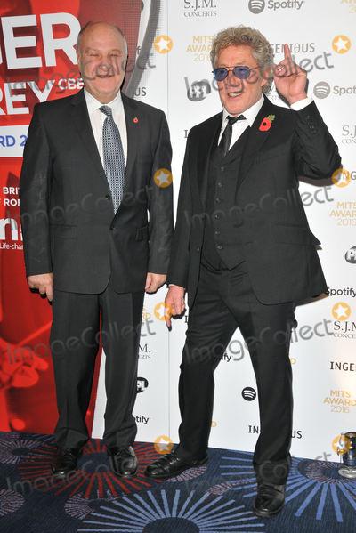 Harvey Goldsmith Photo - London UKHarvey Goldsmith and Roger Daltrey at the Music Industry Trusts Awards 2016 Grosvenor House Hotel Park Lane London England UK on Monday 07 November 2016  Ref LMK315-61221-091116Can NguyenLandmark Media WWWLMKMEDIACOM