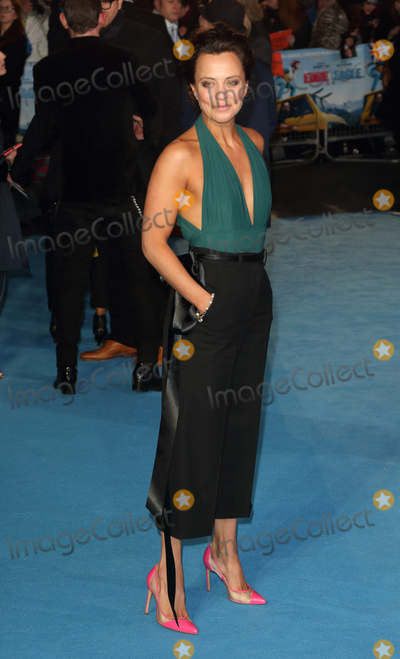 Ania Sowinski Photo - London UK Ania Sowinski at Eddie The Eagle - European film premiere at the Odeon Leicester Square London on March 17th 2016Ref LMK73-60097-180316Keith MayhewLandmark Media WWWLMKMEDIACOM