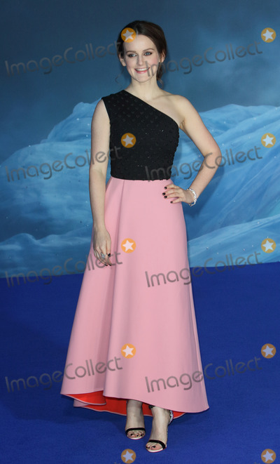 Cinderella Photo - London UK Sophie McShera at the UK Premiere of Cinderella at Odeon Leicester Square London on March 19th 2015Ref LMK73-50753-200315Keith MayhewLandmark Media WWWLMKMEDIACOM