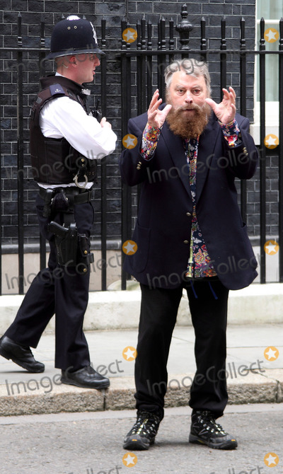 Julian Clary Photo - London UK  Actors Brian Blessed and Annette Crosbie are among a group delivering a post card to 10 Downing Street signed by celebrities such as Joanna Lumley Twiggy Eddie Izzard and Julian Clary in support of greater transparency on animal research on World Day for Laboratory Animals 24th April 2013Keith MayhewLandmark Media