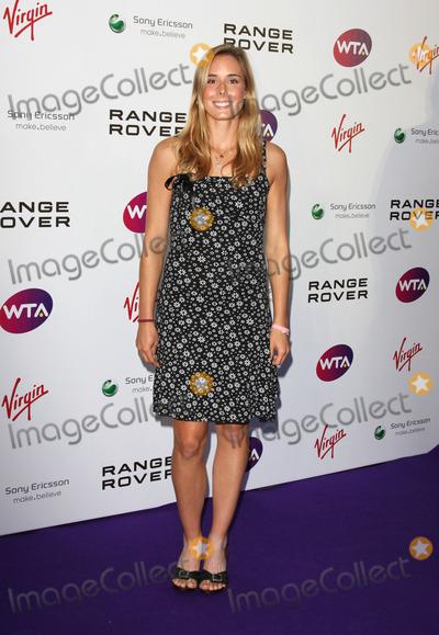 Alize Cornet Photo - London UK Alize Cornet at the  Pre-Wimbledon Tennis Tournament Party   Kensington Roof Gardens 16th June 2011 Keith MayhewLandmark Media
