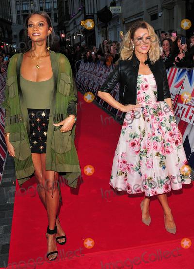 Alesha Dixon Photo - London UK Alesha Dixon and Amanda Holden  at  Britains Got Talent Judges Photocall on the Red Carpet at the London Palladium London on Sunday January 28th 2018Ref LMK315-J1470-290118Can NguyenLandmark MediaWWWLMKMEDIACOM