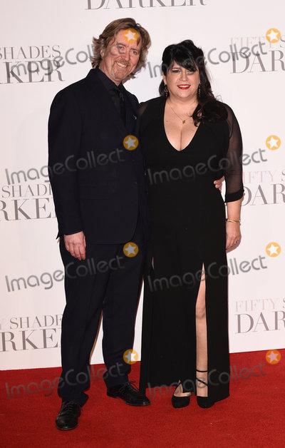 EL James Photo - London UK Niall Leonard and E L James at the Fifty Shades Darker Premiere held at Odeon Leicester Square London on Thursday 9 February 2017Ref LMK392-61655-100217Vivienne VincentLandmark Media WWWLMKMEDIACOM