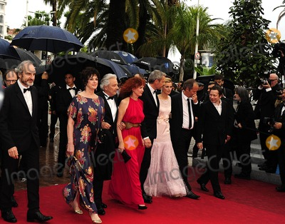 Alain Resnais Photo - Cannes France Anne Duperey Alain Resnais Sabine Azema Lambert Wilson Anne Consigny and Jean-Louis Livi  arrive for the screening of Vous navez encore rien vu  (You aint seen nothing yet ) presented in competition at the 65th Cannes film festival 21st May 2012SydLandmark Media