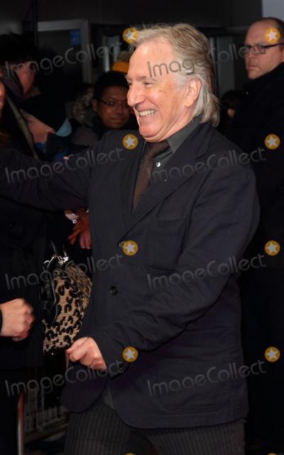 Alan Rickman Photo - London UK  270114Alan Rickman at the UK Premiere of The Invisible Woman  held at the Odeon Kensington27 January 2014Ref LMK73-46491-280814Keith MayhewLandmark MediaWWWLMKMEDIACOM
