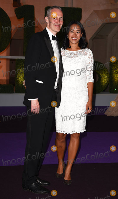 Anne Keothavong Photo - London UK Andrew Bretherton and Anne Keothavong at The Wimbledon Champions Dinner held at The Guildhall Gresham Street London on Sunday 16 July 2017 Ref LMK392-S495-170717Vivienne VincentLandmark Media WWWLMKMEDIACOM