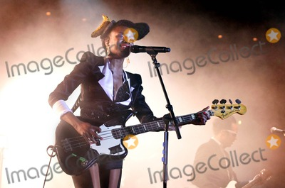 Noisettes Photo - London UK Shingai Shoniwa of Noisettes performing live at The Roundhouse Camden  Town London  27th February 2010 Justina SankoLandmark Media