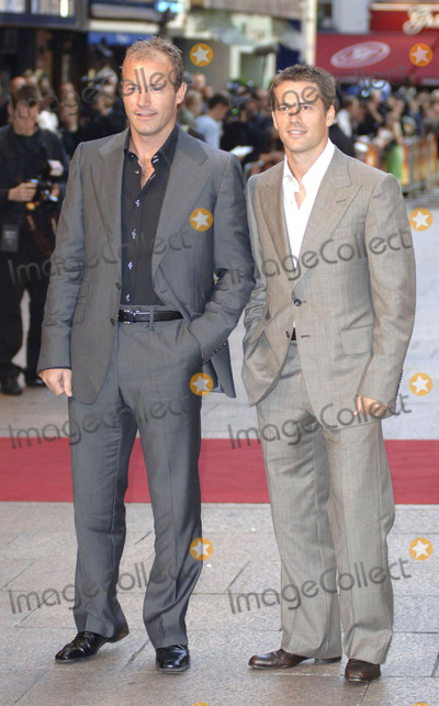 Alan Shearer Photo - London British footballers Alan Shearer and Michael Owen at the premiere of Goal at Odeon Leicester Square 15 September 2005Gio DAngelicoLandmark Media