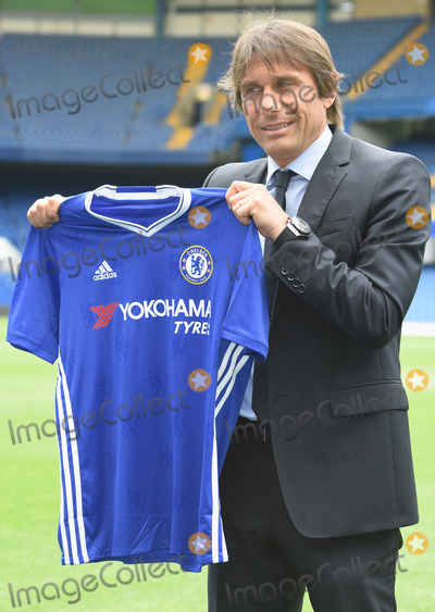 Antonio Conte Photo - London UK Antonio Conte is introduced as the new manager of Chelsea Football Club 14th July 2016 Ref LMK326-60850-150716 Matt LewisLandmark Media WWWLMKMEDIACOM