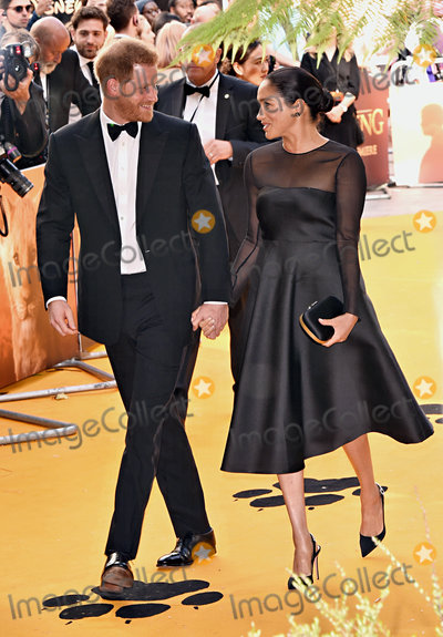 Prince Photo - London UK Prince Harry Duke of Sussex and Meghan Duchess of Sussex the European Premiere of The Lion King held at Odeon Leicester Square London on Sunday 14 July 2019   Ref LMK392-J5174-150719Vivienne VincentLandmark Media WWWLMKMEDIACOM