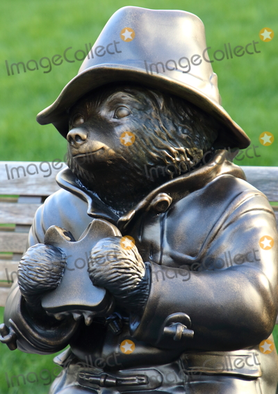 Leicester Square Photo - London UK Paddington Bear statue at Launch of a trail of cinematic bronze statues - Scenes in the Square in Londons Leicester Square celebrating the locations rich history as the home of film and marking the squares 350th anniversary February 27th 2020Ref LMK73-J6288-280220Keith MayhewLandmark Media  WWWLMKMEDIACOM