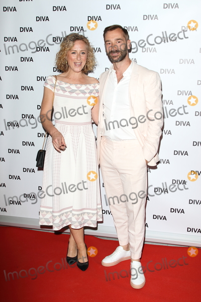 Nicola Stephenson Photo - London UK   Nicola Stephenson and Charlie Condou   at DIVA Magazine Awards The Waldorf Hilton Aldwych London  7th June 2019Ref LMK73-S2536-080619Keith MayhewLandmark Media WWWLMKMEDIACOM