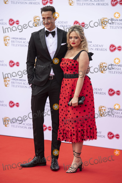 Emily Atack Photo - London UK  Emily Atack and Rob Jowers  at the Virgin Media British Academy Television Awards at The Royal Festival Hall 12th May 2019 Ref LMK386 -S2416-150519Gary MitchellLandmark Media   WWWLMKMEDIACOM