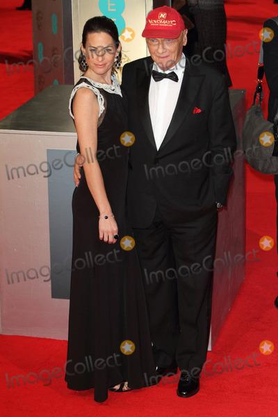 Niki Lauda Photo - London UK Niki Lauda and wife at the EE British Academy Film Awards 2014 at The Royal Opera House on February 16 2014 in London England  Ref LMK73-47682-180214Keith MayhewLandmark Media WWWLMKMEDIACOM