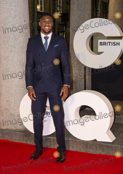 Anthony Joshua Photo - London UK Anthony Joshua  at the GQ 30th anniversary party at SUSHISAMBA Covent Garden on October 29 2018 in London EnglandRef LMK386-J2866-301018Gary MitchellLandmark MediaWWWLMKMEDIACOM