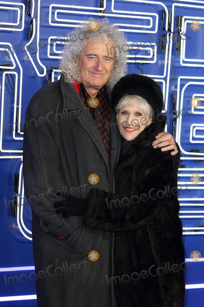 Anita Dobson Photo - London UK Brian May and Anita Dobson at Ready Player One - European film premiere at the Vue West End Leicester Square London on Monday 19 March 2018Ref LMK73-J1757-200318Keith MayhewLandmark MediaWWWLMKMEDIACOM