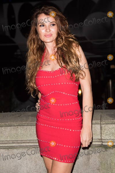 Kierston Wareing Photo - London UK British actress and former Eastenders star Kierston Wareing at the launch of new Mac fashion brand Sexy Mac at the HMS President London UK on Thursday 18th September 2014Ref LMK370-49476-190914Justin NgLandmark Media  WWWLMKMEDIACOM