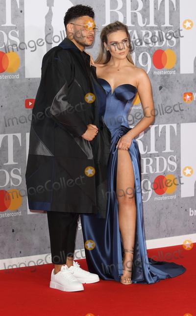 Alex Oxlade-Chamberlain Photo - LondonUK Alex Oxlade-Chamberlain and Perrie Edwards  at The BRIT Awards 2019 at The O2 Peninsula Square London on 20th February  2019 RefLMK73-S2174-210219Keith MayhewLandmark MediaWWWLMKMEDIACOM