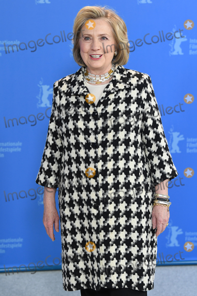 Hillary Rodham Photo - Berlin Germany Former USA Secretary of State First Lady and 2016 Presidential candidate  Hillary Rodham Clinton at  the photocall of Hillary during the 70th Berlin International Film Festival at the Grand Hyatt Hotel 25th February 2020 RefLMK200-S2930-250220Landmark MediaWWWLMKMEDIACOM