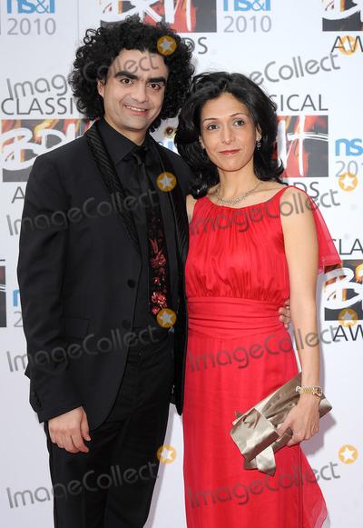 Rolando Villazon Photo - London UK Rolando Villazon and Lucia Villazon at the Classical Brit Awards at Royal Albert Hall in London 13th May 2010Eric BestLandmark Media