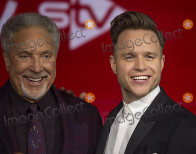 Tom Jones Photo - London UK Tom Jones and Olly Murs  at The Voice UK Final 2019 photocall at Elstree Studios on April 4 2019 in Borehamwood EnglandRef LMK386-J4690-050419Gary MitchellLandmark MediaWWWLMKMEDIACOM