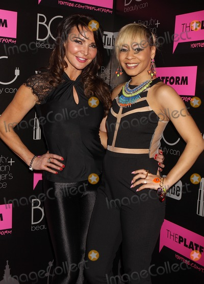 Jade Ellis Photo - London UK Lizzy Cundy and Jade Ellis at the BeautyCon After Party of London Fashion Week at the Home House in London 18th February 2013J AdamsLandmark Media