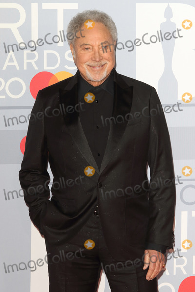 Tom Jones Photo - LondonUK Sir Tom Jones    at 40th Brit Awards Red Carpet arrivals The O2 Arena London 19th February 2020 RefLMK73-S2890-190220Keith MayhewLandmark MediaWWWLMKMEDIACOM