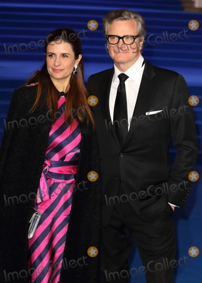 Colin Firth Photo - London UK Colin Firth and Livia Guggioli at Mary Poppins Returns - UK Premiere at the Royal Albert Hall Kensington London on Wednesday December 12th 2018Ref LMK73-J4044-131218Keith MayhewLandmark Media WWWLMKMEDIACOM