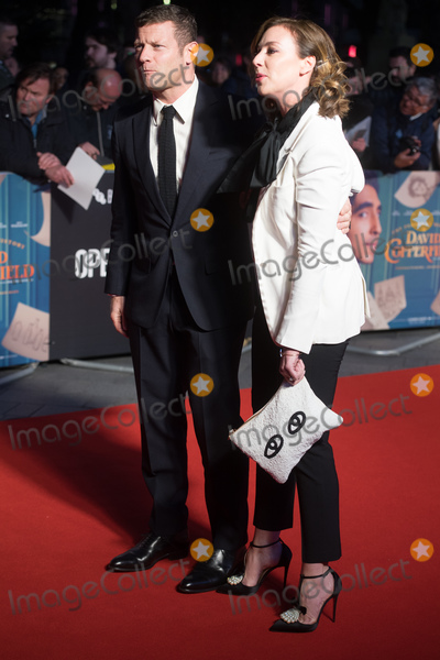 Dermot OLeary Photo - London UK Dermot OLeary and wife Dee Koppang  at The European Premiere of The Personal History of David Copperfield at The 63rd BFI London Film Festival at Odeon Luxe Leicester Square London England UK  Wednesday 2 October 2019  Ref LMK370 -J5534-031019Justin Ng Landmark Media WWWLMKMEDIACOM