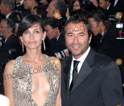 Adeline Blondiau Photo - Cannes France Adeline Blondiau and Bernard Montiel  at the  Cannes  world premiere of new film  A Mighty Heart 60th International Cannes Film Festival  21st May 2007SydLandmark Media