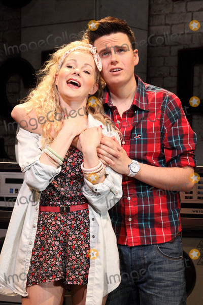 Amy Lennox Photo - London UK Amy Lennox and Thomas Milner at the Stage photocall for Soho Cinders at the Soho Theatre Dean Street 7th August 2012Keith MayhewLandmark Media