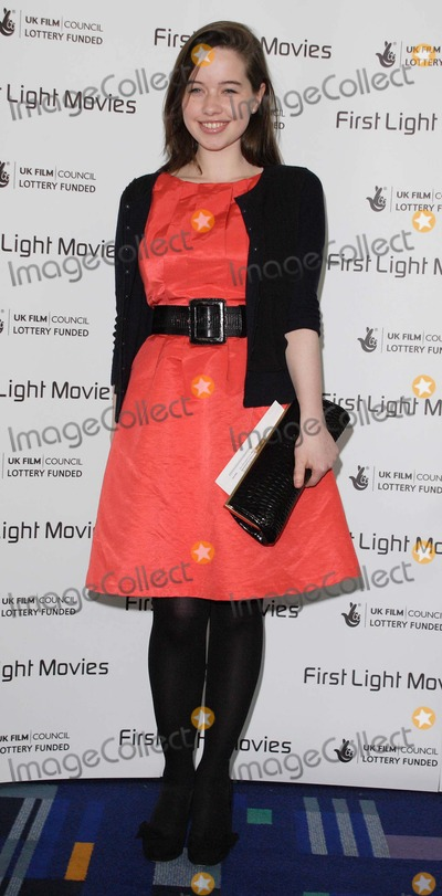 Anna Popplewell Photo - London UK   Anna Popplewell  (currently finishing her role of  Susan in the latest Narnia inspired film Prince Caspian)   at the  First Light Film Awards  Odeon Leicester Square London 4th March 2008