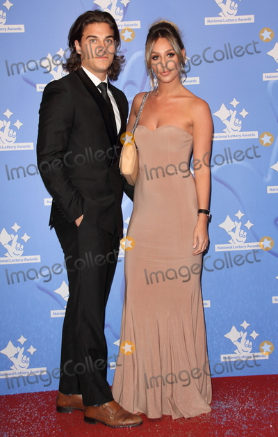 Amber Dowding Photo - London UK Chris Clark and Amber Dowding at National Lottery Awards 2017 at The London Studios Upper Ground London on September 18th 2017Ref LMK73-J760-190917Keith MayhewLandmark MediaWWWLMKMEDIACOM